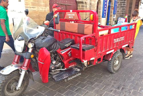 Automne 'Indian', cyclecar de Papa et chinoiseries
