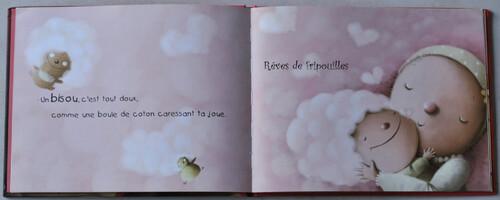 Bisous Bisous de Selma Mandine éditions Auzou éveil