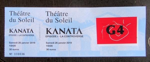 """""""Kanata, la Controverse"""", un magnifique spectacle à la Cartoucherie de Vincennes, auquel la Compagnie des Gens nous a permis d'assister..."""