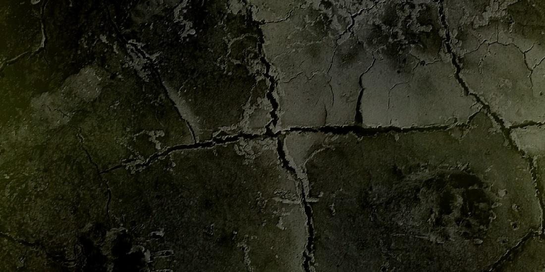Photos retravaillées, boue séchée perso