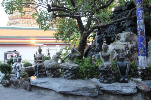 Le Wat Pho, extérieur (Bangkok)