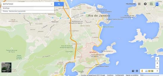 Temple Antoiniste - Botafogo, Rio de Janeiro (Google Maps)-vue large