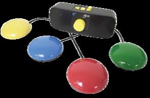 Lecteur MP3 adapté, commandé par contacteurs