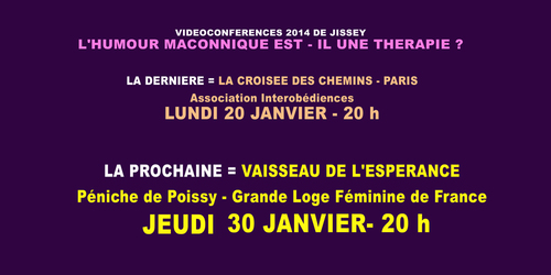 LES CONFERENCES DE JISSEY