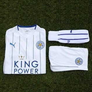 Nouveau Maillot de foot Leicester City Football Club 2016 2017 Troisieme