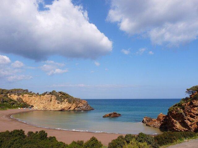 Gouraya, plage de la crique