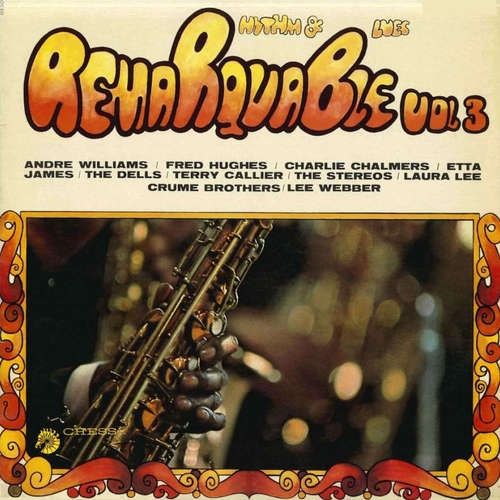 "Série "" Remarquable Rhythm & Blues Vol 3 "" Chess Records 69504 [ FR ] en 1968"