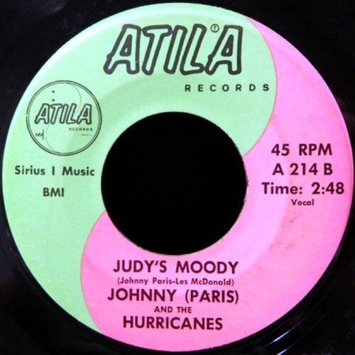 Johnny ``Paris´´ And The Hurricanes - Judy's Moody