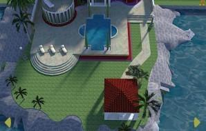 Mediterranean mansion escape