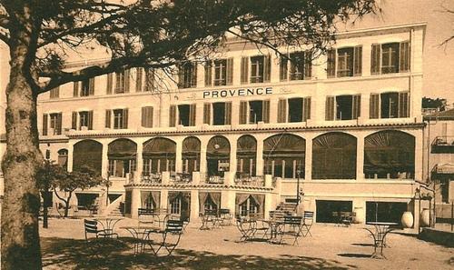 Etape n° 2 - 17 au 23 Août 44 :  histoire de l'hôpital provisoire du Lavandou...