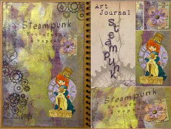 My Scraperiments : Steampunk