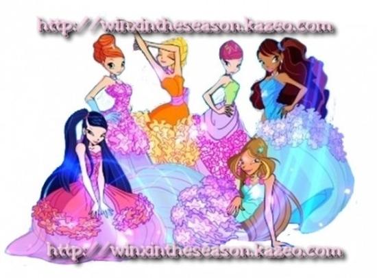 Winx princesse fleurs