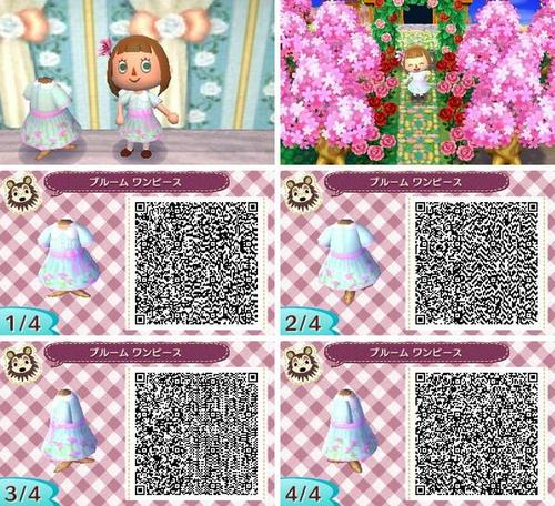 Top QR Codes vêtements filles - Animal Crossing New Leaf : Welcome Amiibo FD79