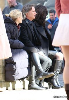 "Jennifer Morrison, Robert Carlyle and Lana Parilla - Behind the scenes - 5 * 23 ""An Untold Story"" - 28 March 2016"