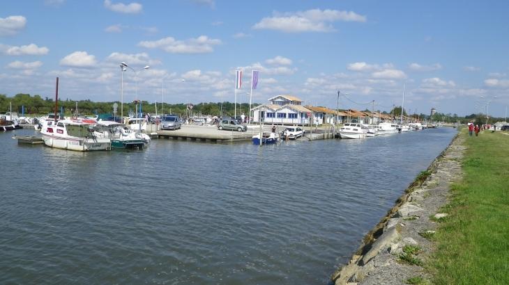 Le port d'Audenge.