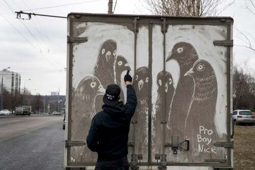 Transformer la crasse en œuvre d'art
