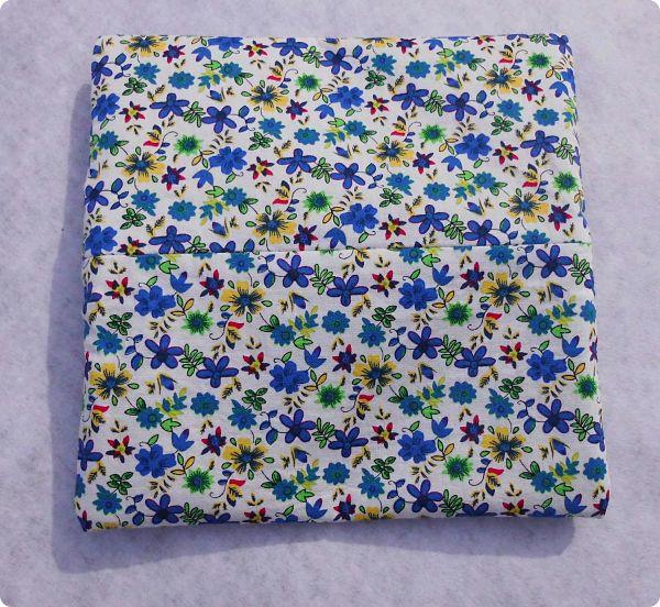 Trousse plate à fleurs