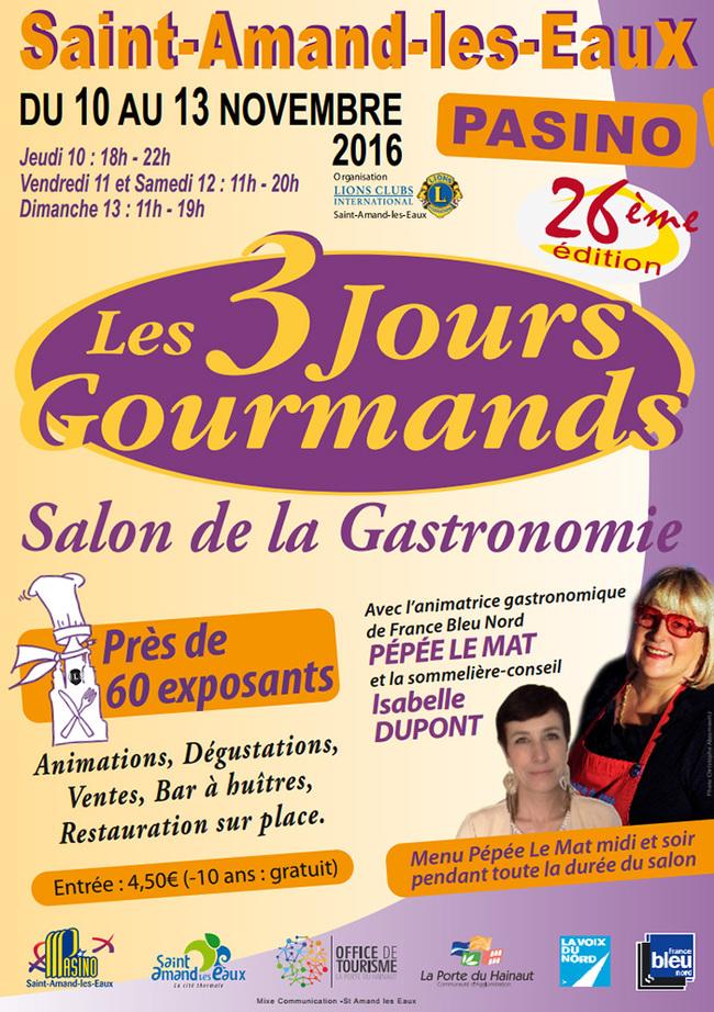 Les 3 jours gourmands, à Saint-Amand-les-Eaux