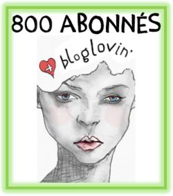 800 suiveurs sur Bloglovin!!