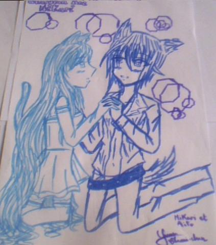 Mikari et Aito!