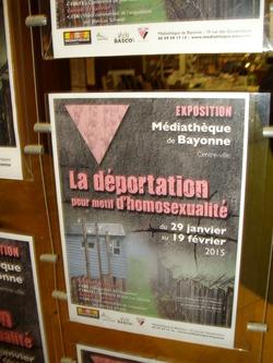 Déportation pour motif d'homosexualité - Médiathèque Bayonne