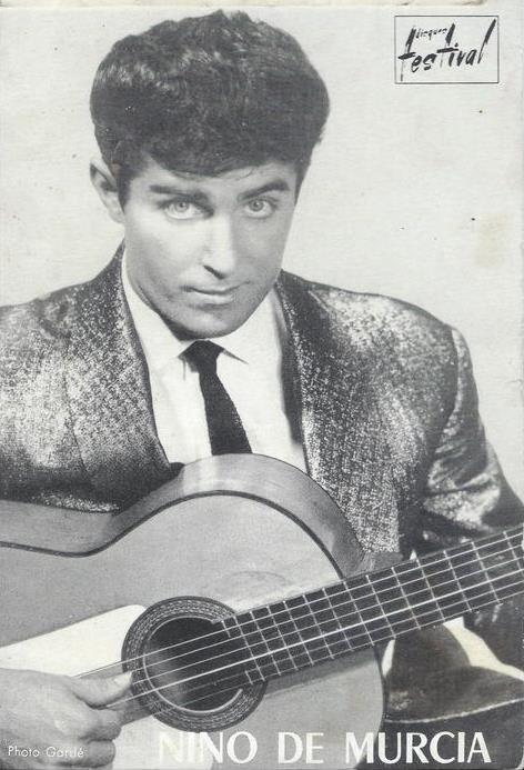 Nino   de   Murcia   -  L ' homme  à  la  guitare  et  à  la   voix   magique