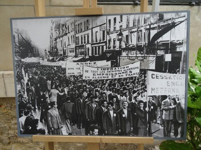 Inauguration (6 juillet 2017) de la plaque commémorative Un article d'Henri POUILLOT présent à ce dévoilement