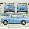 Ford Anglia Super 123E 1962-67