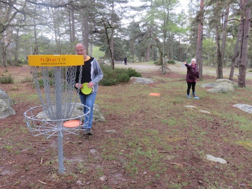 Disc golf à Buthiers