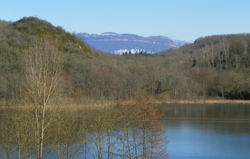 Le lac de Chavolley