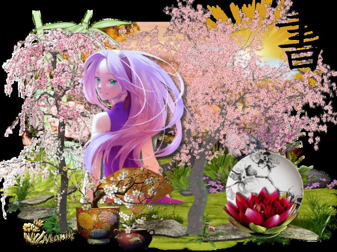 Défi pour Nathie Sakura ( CERISIER DU JAPON )
