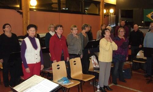Choraly- Avant dernière répé avant le concert