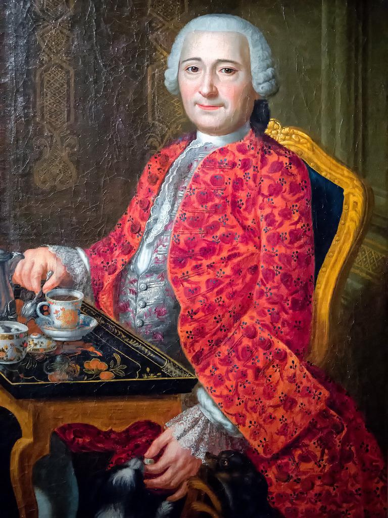 Portait d'un seigneur du 18e siècle