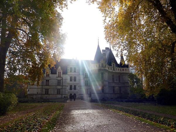 Azay Le Rideau façade avant