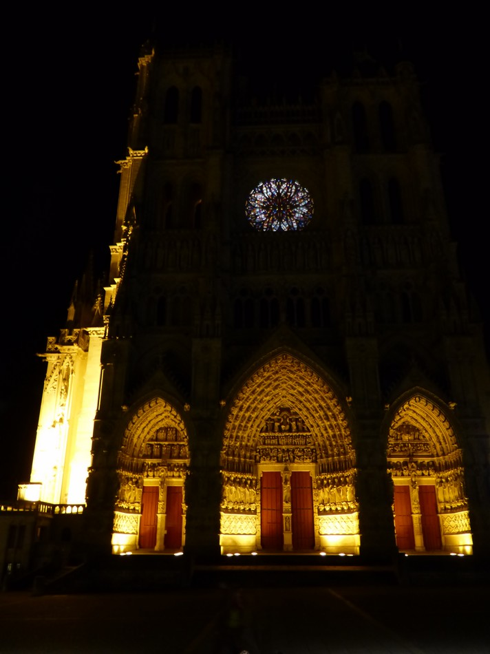 Les couleurs d'origine de la Cathédrale d'Amiens