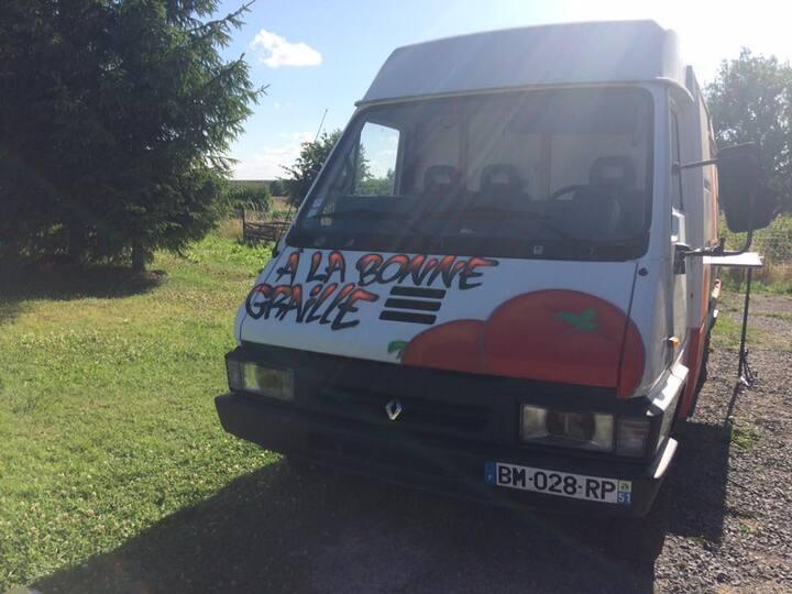 Food truck ¨à la bonne graille¨. Juillet 2017