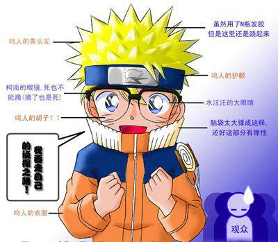 Naruto déguisé en Naruto