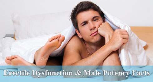 Erectile Dysfunction & Male Potency Facts