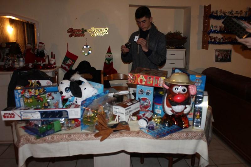 Ouverture des cadeaux