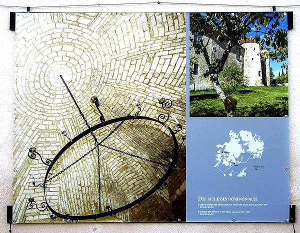 """""""Un automne de l'Ource et la Laigne"""", à aller admirer dans la cour du Musée du Pays Châtillonnais (entrée libre)"""