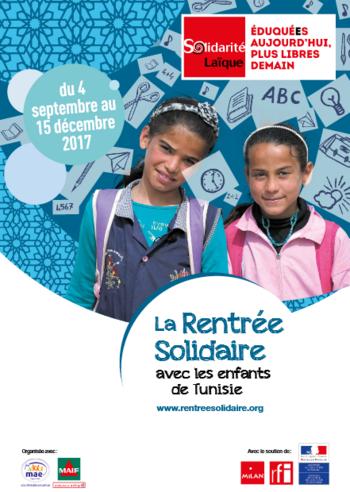 La rentrée solidaire: Tunisie