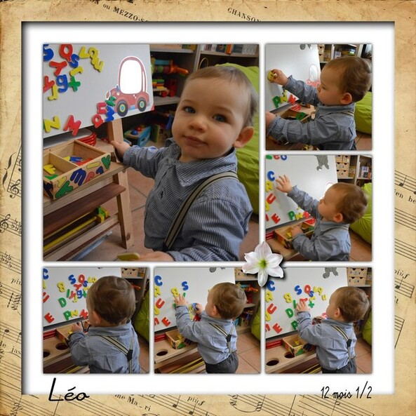 Blog de sylviebernard-art-bouteville : sylviebernard-art-bouteville, Un petit coucou de Léo, mon petit-fils .