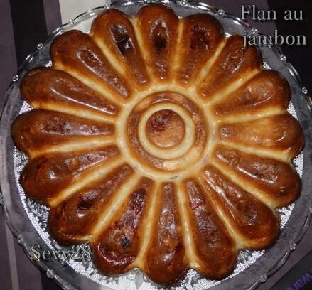 Flan au jambon (thermomix)