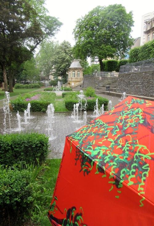 Parapluies au Luxembourg