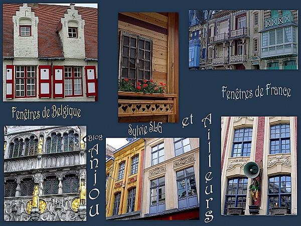 fenêtres belgique - nord - montagne
