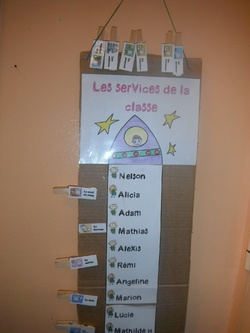 La fusée des services