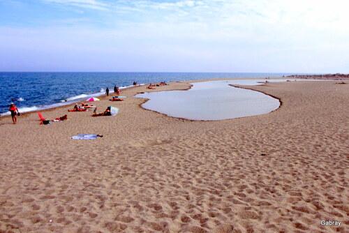 Le Barcarès: la plage en septembre