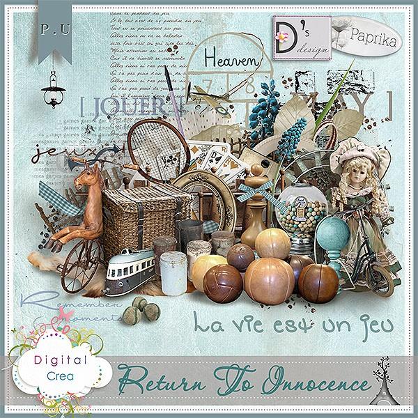 """""""Return to Innocence"""" de Paprika et Doudou's D"""