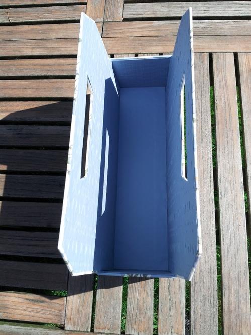 Porte-revue bleu