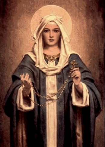 Le mois du rosaire : 17 octobre